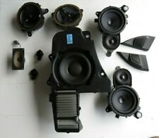 2005 Volvo XC90 full speakers set with subwoofer (yellow labels)