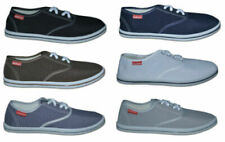 Zapatos informales de hombre grises de lona