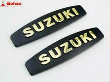 Motorcycle Gold 3D Logo Fuel Tank Badge Fairing Emblem Decal Sticker for Suzuki