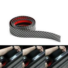 3CM*1M Car Carbon Fiber Rubber Edge Guard Strip Door Sill Protector Accessories