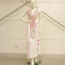 SIENNA Kleid bunt Quasten bestickt Gr. 38 Impressionen