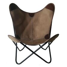 Chocolate Chair Iron Stand and Leather Cover for Indoor Outdoor Chair