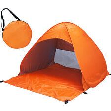 2-4 Person Tent Portable Beach Sun UV Shade Cabin Kid Outdoors Camping Hiking EP