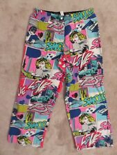 VICTORIA'S SECRET True Love LOUNGE PANTS Ladies MED Thin Cotton Pajama Women PJ