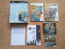 SIM city 2000 CD Collection PC win 95 alemán USK 6 #