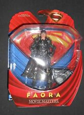 FAORA SUPERMAN MAN OF STEEL DC COMICS MOVIE MASTERS SHIPS FREE