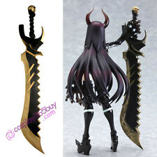 Black Rock Shooter BLACK Gold Saw Cosplay Prop PVC made
