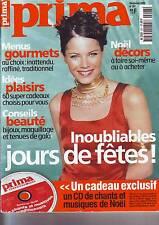 Prima 207 - 12/ 1999 - mode - santé - beautés - decoration -patron robe courte