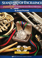 STANDARD OF EXCELLENCE ENHANCED SECOND EDITION TRUMPET BOOK 2 W/ONLINE LINK
