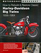 1936 40 44 46 48 50 54 56 58 59 60 61 62 64 HARLEY DAVIDSON BIG TWIN RESTORATION