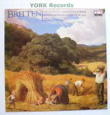 EMX 2111 - BRITTEN - Variations On A Theme Of Frank Bridge GIBSON - Ex LP Record