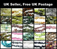 25g Gemstone 4-8mm Chip beads