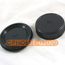 Rear Lens + Camera body Cover cap for PENTAX DSLR PK