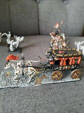Warhammer Fantasy Vampire Undead Chaos Corpse Cart Ghosts Black Coach painted