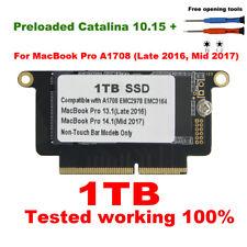 "NEW 1TB SSD For Macbook Pro 13"" 13.3"" A1708 2016 2017 non-touchbar EMC 2978 3164"