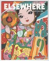 ELSEWHERE #1 mini-comix GARY SULLIVAN Japan travel small press mini-comic 2005