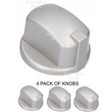 Si adatta Belling Stoves Nuovo Mondo Argento bianca fornello piano cottura Manopola di Controllo /& Adattatori X 8 forno