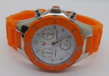 "Michele Tahitian  MWW12D000005 Chronograph Watch for Women 8"" LONG 112354-5"