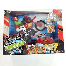 Tyco RC Turbo Pro Wheelie Cycle Radio Controlled Toy Motorcycle in Box