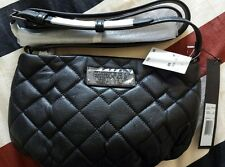 MARC by MARC JACOBS Q Percy Quilted Black Leather Crossbody Bag New £200