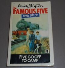 Five Go Off to Camp, by Enid Blyton (1978, Paperback)