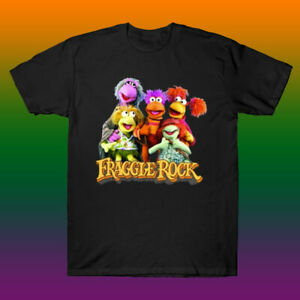 The Fraggle Club Fraggle Rock And The Breakfast Club Mashup White T-Shirt S-6XL