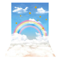 2.1mx1.5m Rainbow Photography Photo Video Back Screen Backdrop Studio Background