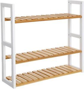 3-Tier Bamboo Rack Organizer