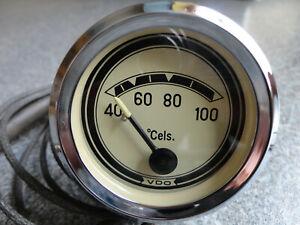 VDO Fernthermometer für Oldtimer Unimog, Traktor, LKW