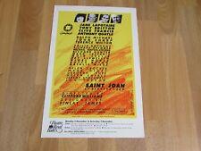 Tony Britton & Clive Francis in SAINT John  Original Theatre Royal BATH Poster