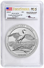 2018-P Cumberland NP 5 oz. Silver ATB PCGS SP70 FS Excl Mercanti Signed SKU51778