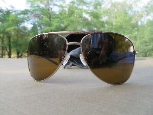 SMITH SERPICO Aviator Sunglasses Gold Frame   Polarized  $148r