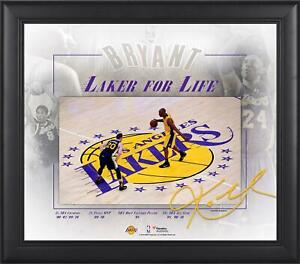 """Kobe Bryant Los Angeles Lakers Framed 15"""" x 17"""" Final Game Collage - Fanatics"""