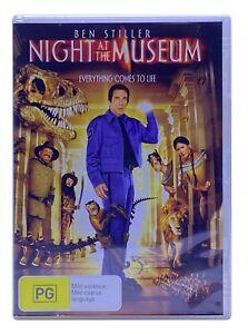 Night At The Museum: Ben Stiller, Robin Williams (DVD, 2007) PAL Region 4