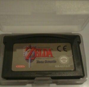 ZELDA -A link to the past four swords Nintendo GBA , Game boy Advance