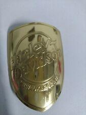 Harley Davidson Bicycle Head Badge Emblem