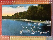 Bathers, Baron Lake, near Niles, Michigan