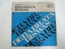 RABINDRA SANGEET DEBABRATA BISWAS BENGALI rare EP RECORD 45 vinyl INDIA 1978 EX