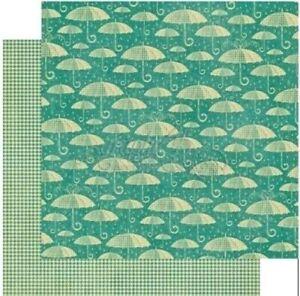 Graphic 45 Raining Cats Dogs 12 x 12 Cardstock PICK Puppy Pals Animal Umbrella