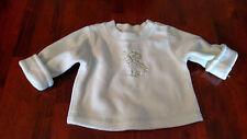 CHILDREN'S PLACE Baby Infant Green Fleece Long Sleeve Giraffe Top 3-6 mos