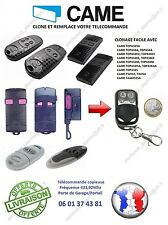 Télécommande clone CAME TOP432, TOP 434, TAM432, TWIN2, Portail,Garage