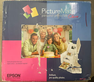 Epson PictureMate Charm PM 225 Digital Photo Inkjet Printer