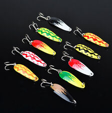 Wholesale 100pcs Jigs Spoons Hard Bait Gear Spoon Tackle Fishing Lures 5cm/7g