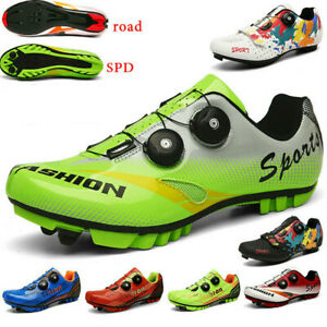 Professional Cycling Shoes Men Outdoor Mountain Bike Sneakers Racing Spin Cleats