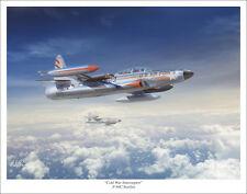 """F-94C Starfire Aviation Art Print - 11"""" x 14"""""""