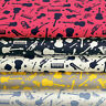 Cotton Fabric by FQ Guitar Violin Saxophone French Horn Electone Music Star VK68