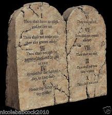 Religious Mount Sinai, Moses 10 commandments sculptural tablets english & hebrew