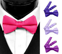 Men's Pre Tied Bow tie - Classic 2.5 Inch Bowties for Men with Adjustable Strap