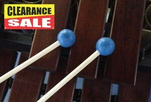 Medium Rubber Mallets, marimba, xylophone, multiple percussion - Clearance