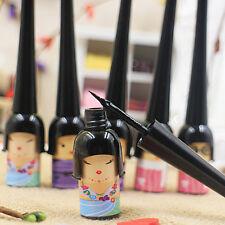 Cosmetic Waterproof Doll Eyeliner Liquid Eye Liner Pen Pencil Make Up Black